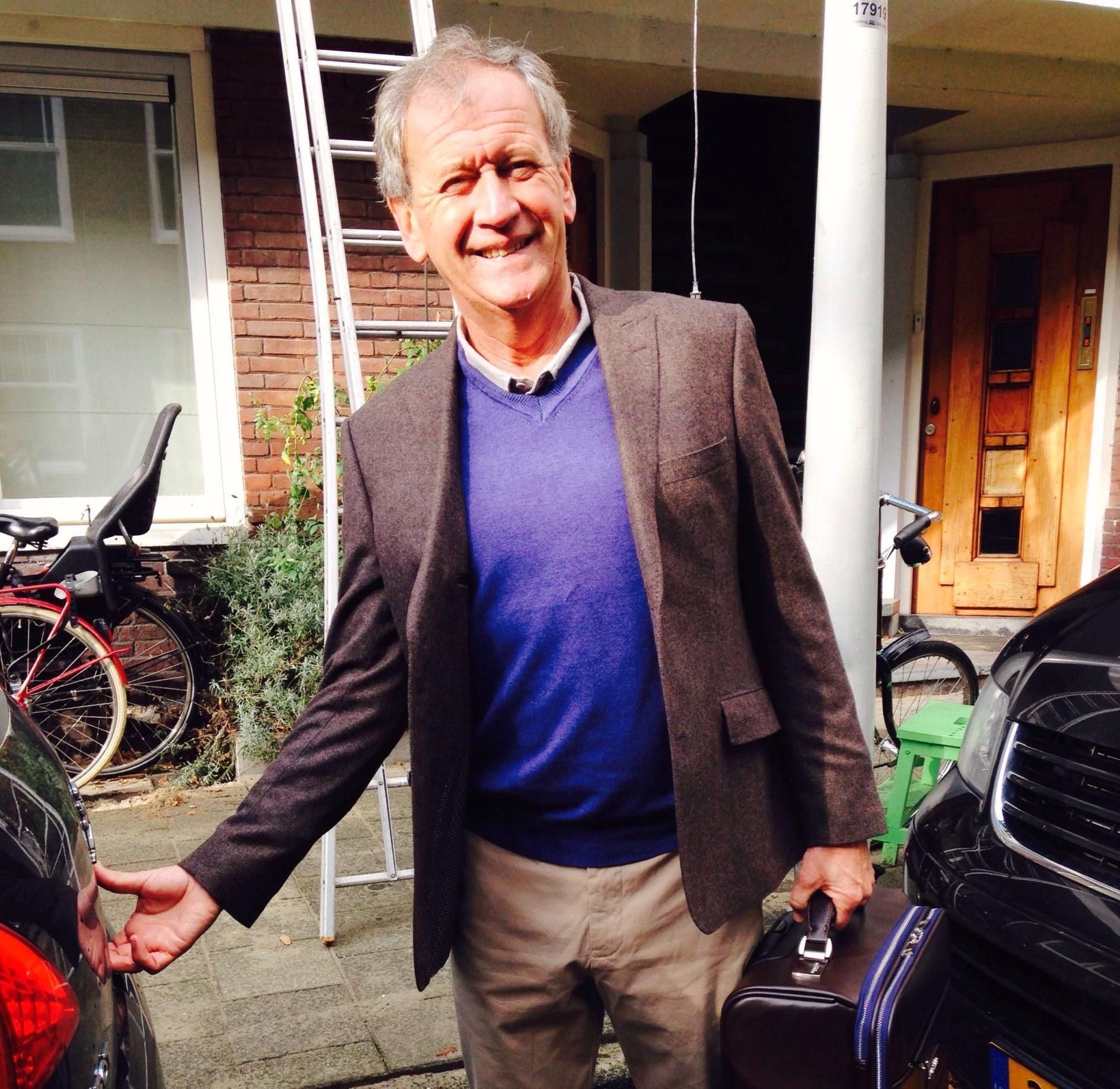 Gerard Keg is bedrijfscoach in Amsterdam