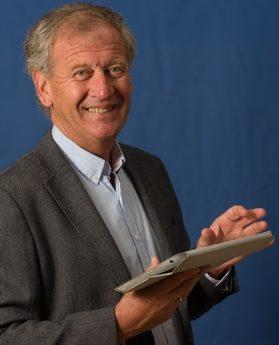 Gerard Keg als Jobcoach in Leiden